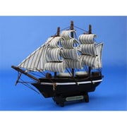 Handcrafted Model Ships Cutty Sark 7 in. Decorative Tall Model Ship (HDFM1693)