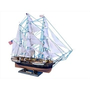 Handcrafted Model Ships Charles W. Morgan Limited 32 in. Decorative Tall Model Ship (HDFM2031)