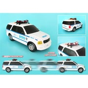 New York City Motorized Vehicles Nypd Suv with Lights and Sounds (DARON9096)
