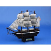 Handcrafted Model Ships Flying Cloud 7 in. Decorative Tall Model Ship (HDFM1692)