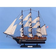 Handcrafted Model Ships Star of India 20 in. Decorative Tall Model Ship( HDFM2148)