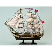 Handcrafted Model Ships Master And Commander HMS Surprise 14 in. Decorative Tall Model Ship( HDFM1950)