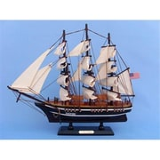Handcrafted Model Ships Star of India 15 in. Decorative Tall Model Ship( HDFM2152)