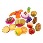 Az Import & Trading Kitchen Fun Cutting Fruits & Fast Food Playset for Kids (AZIMPT02421)
