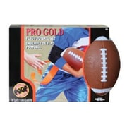 POOF-Slinky POOF Pro Gold Flag Football Set with 16-Flags and 9.5-Inch Foam Football Brown (POOF277)