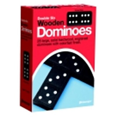 Pressman Double Six Wooden Dominoes (SSPC74237) 2515537