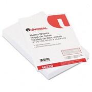 Universal Loose Memo Sheets 4 x6 White 200 Sheets per Pack (AZRUNV46220)
