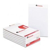 Universal Colored Perforated Note Pads Wide Rule 5 x 8 Orchid 50-Sheet Pack of 12 (AZRUNV35854)