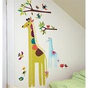 Wallies Wallcoverings Peel & Stick Wall Play Giraffe Growth Chart (WLWC054)