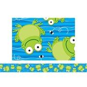 Carson Dellosa Frogs Border with Colorful Borders (EDRE39964)
