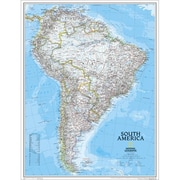 National Geographic Map Of South America - Laminated (NGS589)
