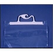 Monaco 20 x 25 in. Hangup Portable Original Bag, 4 Mil. Polyethylene, Clear, Pack - 10 (SSPC75952)