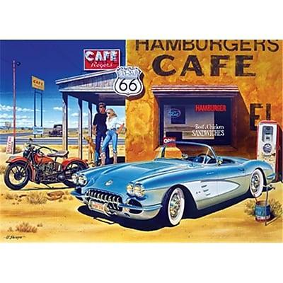 Masterpieces Route 66 Caf- Puzzle - 1000 Piece (RTL236171) 2517414