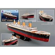 3D Puzzles Titanic 3D Puzzle - 113 Pieces (DARON7177)