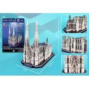 3D Puzzles St Patricks Cathedral 3D Puzzle - 41 Pieces (DARON8821)