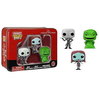 Ares Games srl Pocket Pop Tins - Nightmare Before Xmas (ACDD15577) 2512493