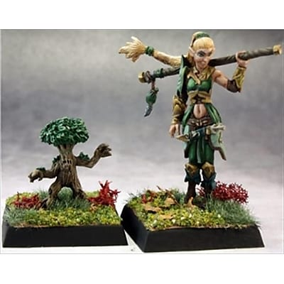 Reaper Miniatures 60147 Pathfinder Series Pathfinder Druid, Familiar Miniature (ACDD10666) 2512588
