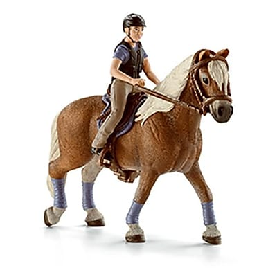 Schleich 42113 Recreational Rider Figurine, Red (TRVAL42484) 2512573