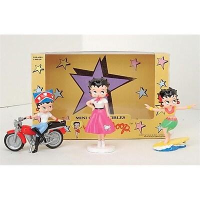 Precious Kids 4 Betty Boop PVC Figurines 3 piece set (PRK024) 2512525