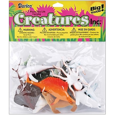 WMU Creatures Inc.Sea Life - 12-Package (DLRDY007771) 2512517