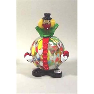 """""Belco 5-1/2"""""""" Murano Glass Clown (BLC017)"""""" 2512499"