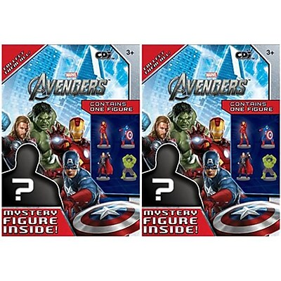 Avengers, The 49405 Marvel Avengers Mystery Figure, 2 Pack (KMSH786) 2512514