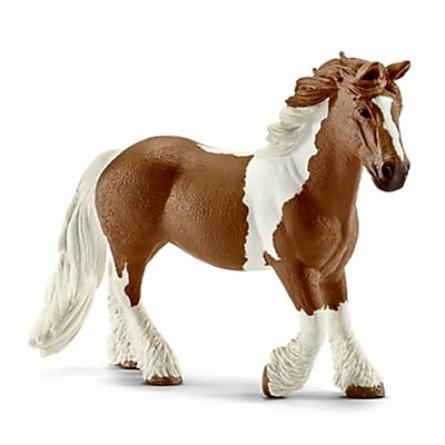 Schleich 13773 Tinker Mare Toy - Brown & White, Ages 3 & Up (TRVAL42502) 2512503