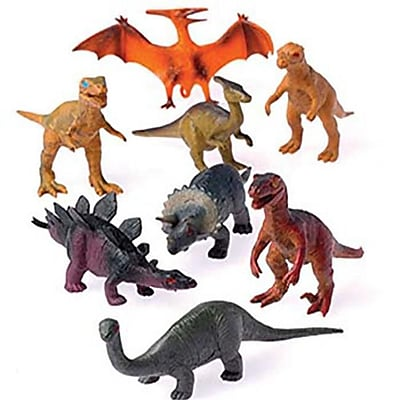 US Toy Company Dinosaurs/4 Inch (10 Packs Of 12) (USTYC0326) 2512516
