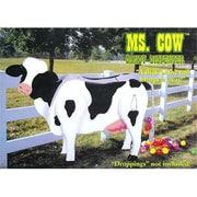 NorthLight Ms. Cow Wooden Candy Dispenser Funny Toy - Poops Candy (GDNC7092)