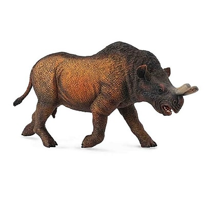 CollectA Megacerops Prehistoric Rhino Mammal Dinosaur Toy - Pack of 2 (IQON258) 2512479