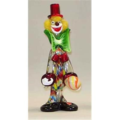 """""Belco 11"""""""" Murano Glass Clown (BLC013)"""""" 2512501"