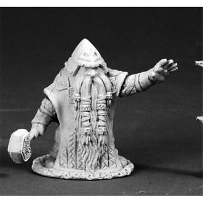 Reaper Miniatures 3663 Dark Heaven Legends - Grimm Grayrune, Dwarf Vizier (ACDD10074) 2512513