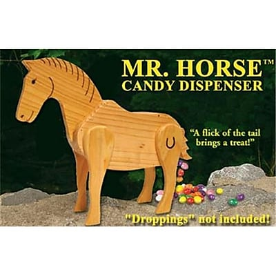 NorthLight Mr. Horse Wooden Candy Dispenser Funny Toy - Poops Candy (GDNC7091) 2512457