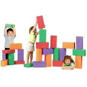 Smart Monkey Toys 24 piece Giant Rainbow Block set (SMT008)
