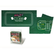 Sunnywood Texas Hold 'Em And Craps Game Layout (SNWD058)