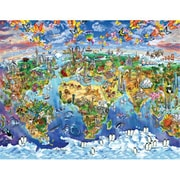 Masterpieces World Map Puzzle - 60 Piece (RTL236321)