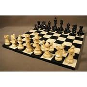 WW Chess Black French on Black-Maple Basic Board (WWI443)