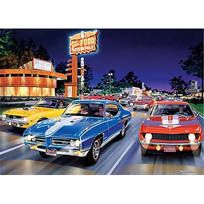 Masterpieces Bruce Kaiser Woodward Avenue Puzzle, 1000 Pieces (RTL236169) 2511235