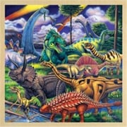 Masterpieces Dinosaur Friends Wooden Jigsaw Puzzle - 48 Piece (MSTRP249)