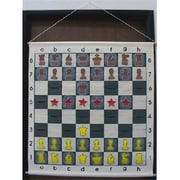 CNChess Vinyl Hanging Portable Teaching Chess Board (WWI100)