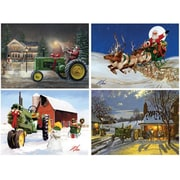 Masterpieces JD Christmas Card Pack Puzzle - 20 Piece (RTL236289)