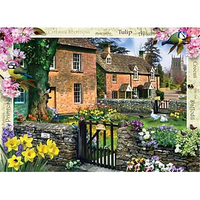 Masterpieces Tulip Cottage Puzzle - 1000 Piece (RTL236126) 2517345