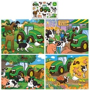 Masterpieces John Deere 4-Pack Puzzles Puzzle - 100 Piece (RTL236364)
