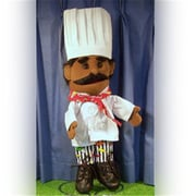 Sunny Toys 14 In. Ethnic Chef, Glove Puppet (SNTY052)