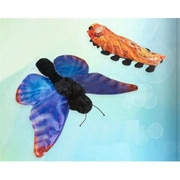 Sunny Toys 12 In. Caterpillar Butterfly, Animal Puppet (SNTY414)