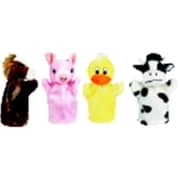 Get Ready Kids Cow - Duck, Horse And Pig Farm Animal Puppet Set (SSPC73543)