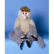 Sunny Toys 15 In. Monkey - Proboscis, Animal Puppet (SNTY308)