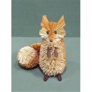 Brushart Fox Red-Brown Sitting 9 inch OL (GC13398)