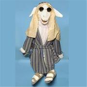 Sunny Toys 28 In. Lamb Singer, Full Body Animals Puppet (SNTY271)