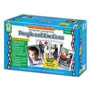 Carson-Dellosa Photographic Learning Cards Boxed Set People and Emotions Grades K-12 (AZRCDPD44044)